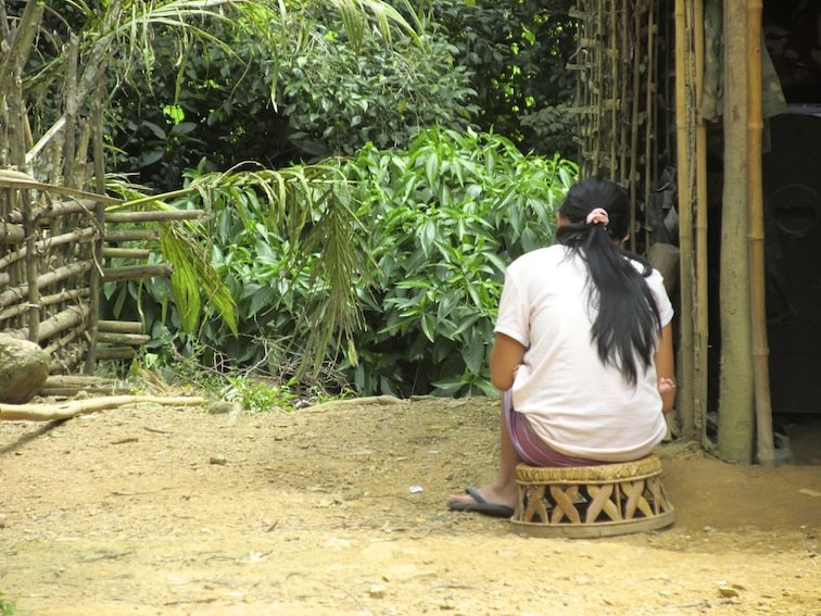 Trekking to Chantanohm Banna Village Northern Laos Woman