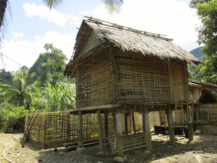 Trekking to Chantanohm Banna Village Northern Laos