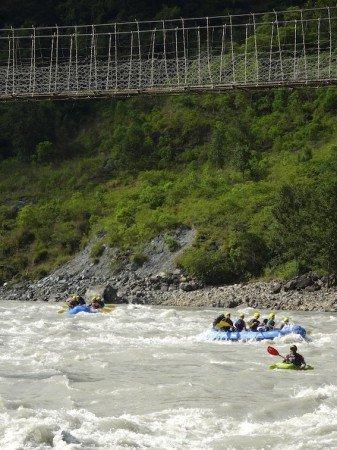 Whitewater Rafting Kali Gandaki River Paddle Nepal