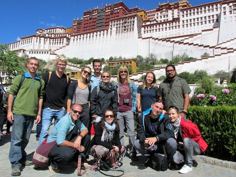 Budget Tibet Tour Potala Palace China