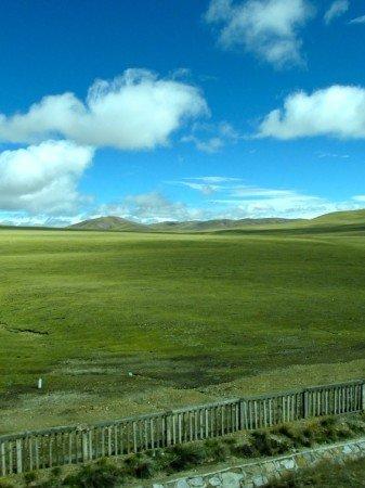 Train to Lhasa Tibet Country China