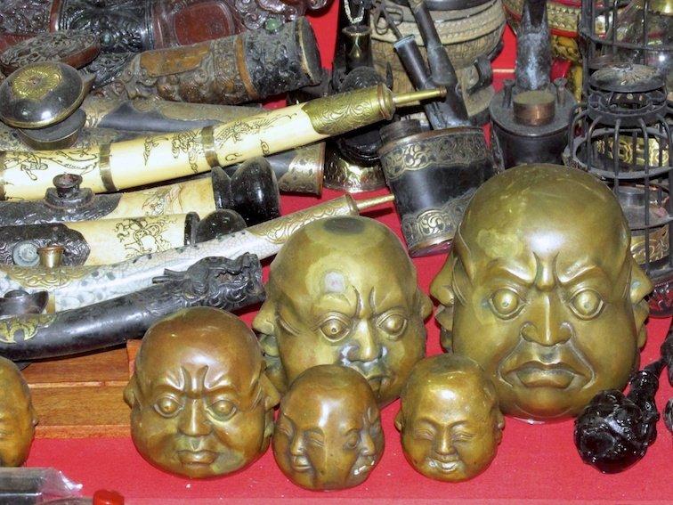 Sapa Vietnam Market Buddha Souvenirs