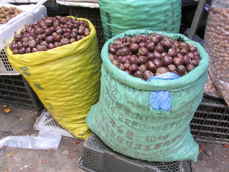 Sapa Vietnam Market Nuts