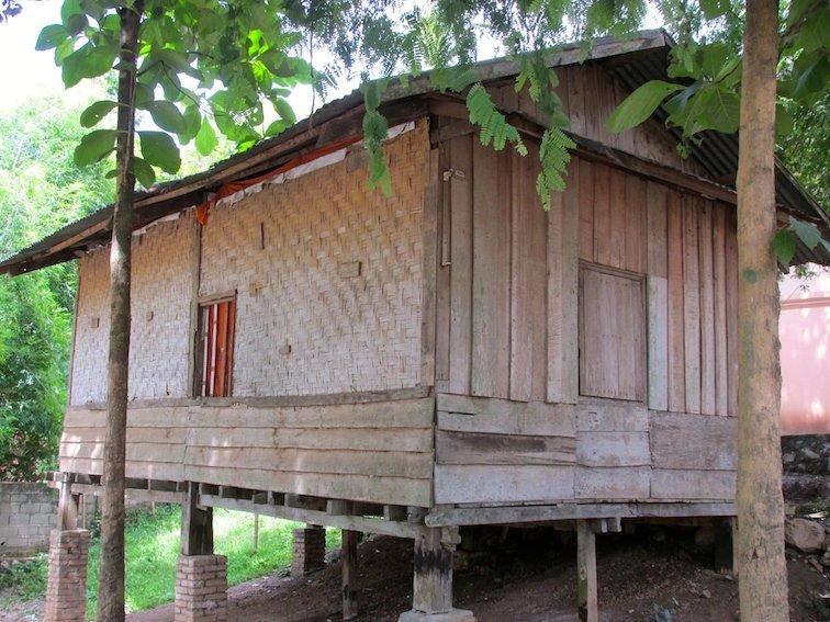 Luang Prabang Laos Monk Temple House