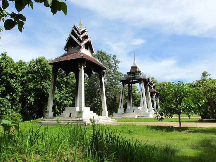 Luang Prabang Laos Monk Temple