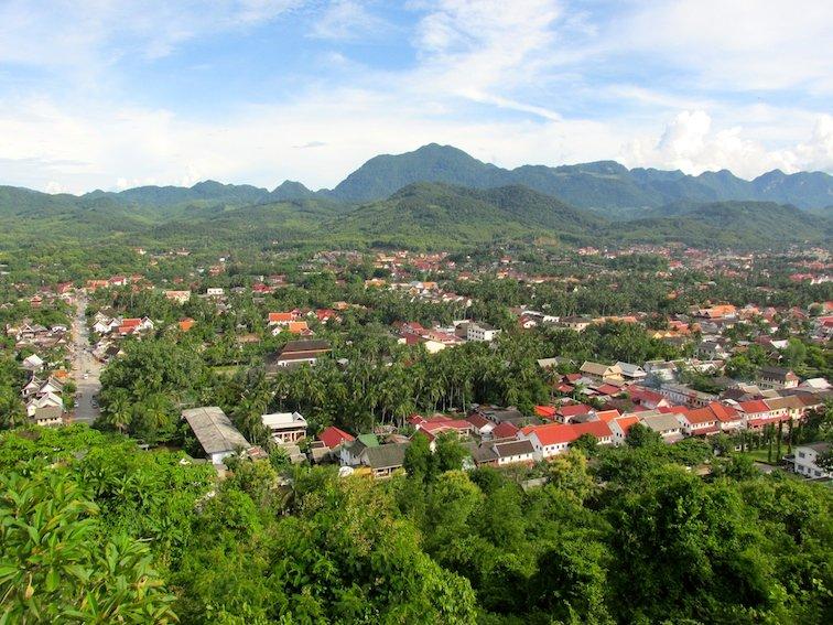 Mount Phousi Laos Luang Prabang