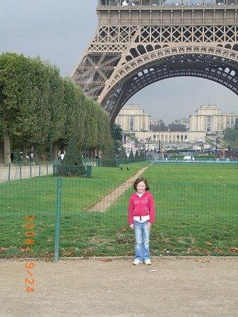 Child Kids Eiffel Tower Paris