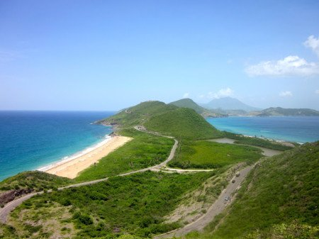 Jess on the Caribbean Island of St. Kitts