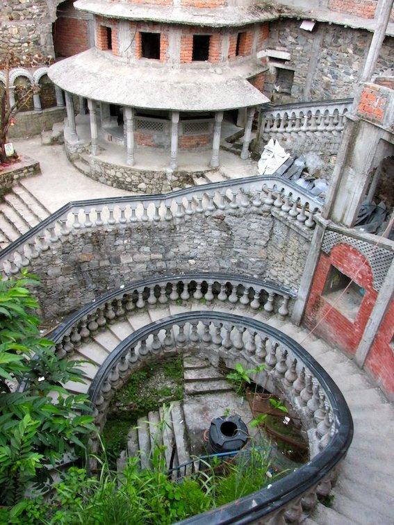 Gupteshwor Mahadev Cave Pokhara Nepal Stairs