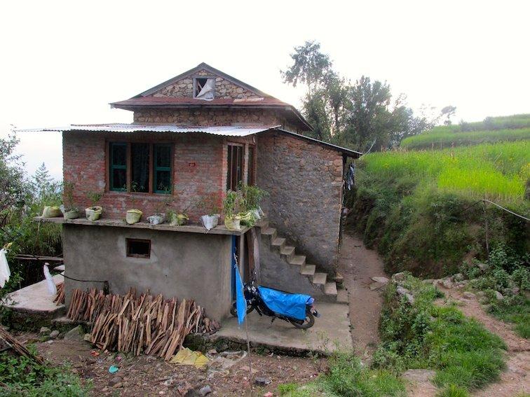 Hiking Shivapuri Peak in Kathmandu, Nepal Village, House
