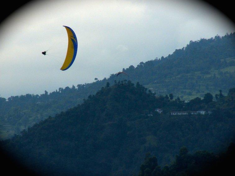 Fewa Phewa Lake Tal Pokhara Nepal Hang-gliding