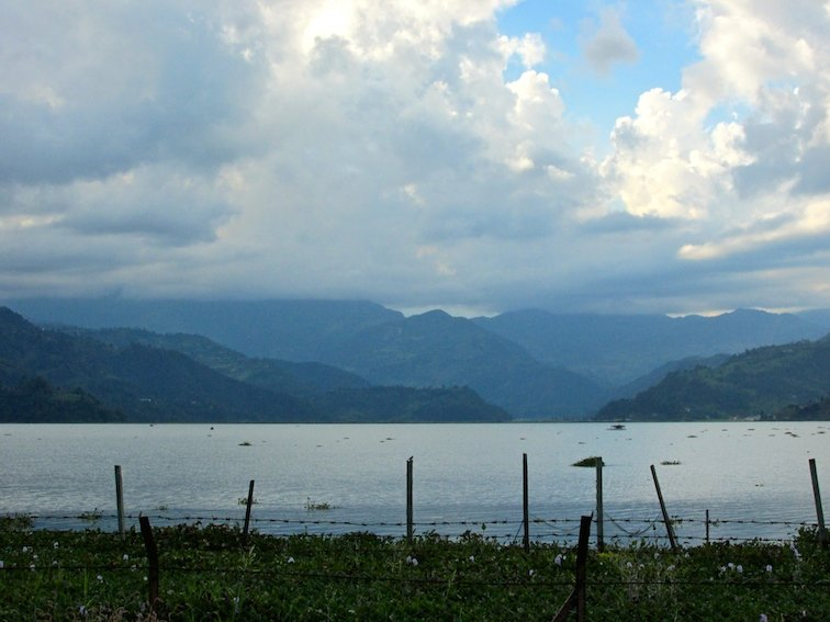 Fewa Phewa Lake Tal Pokhara Nepal