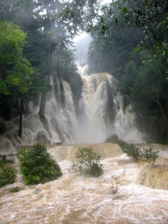 Kuang Si WaterFall Luang Prabang Laos Southeast Asia