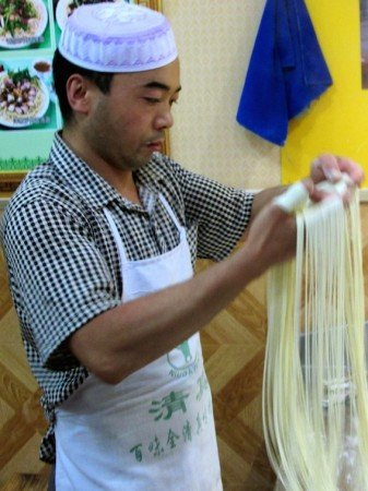 China Noodle Soup Handmade Chef Cook