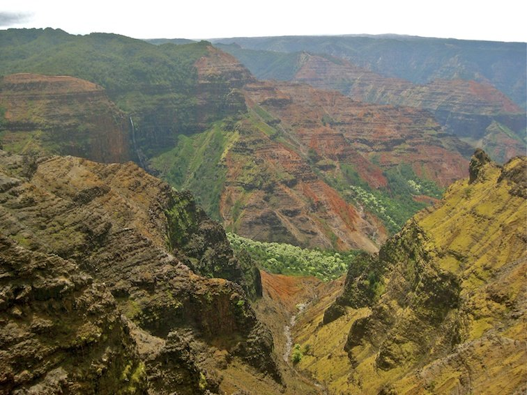 Hawaii Vacation Pacific Ocean Beach Waimea Canyon