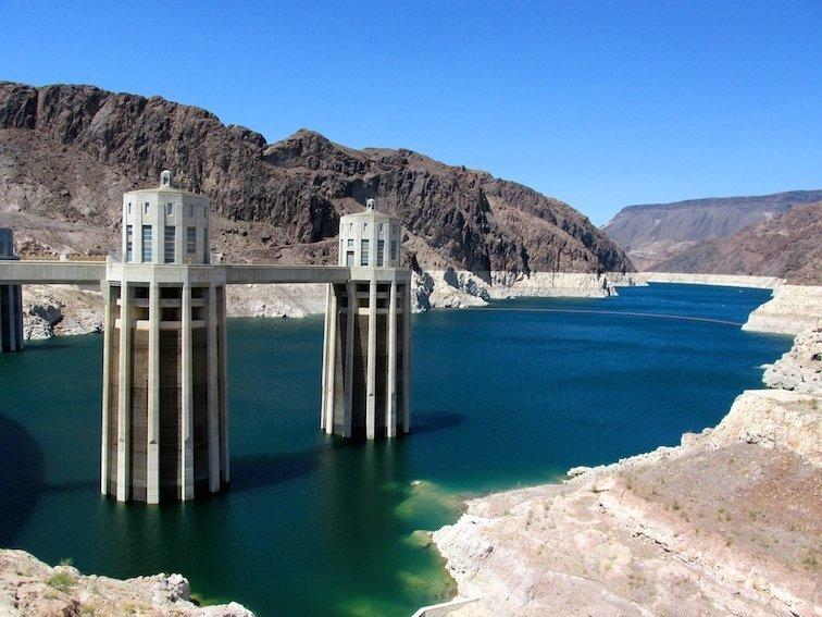 SUP Black Canyon Hoover Dam Paddle boarding