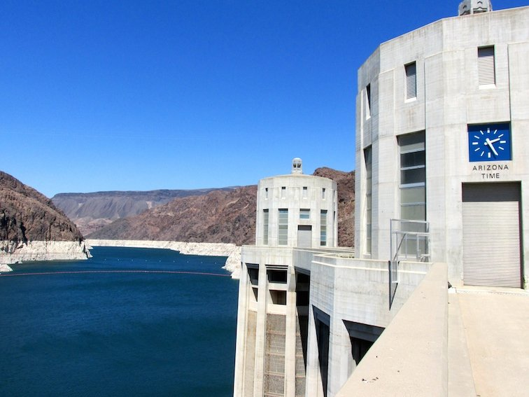 Hoover Dam Black Canyon Colorado River Nevada