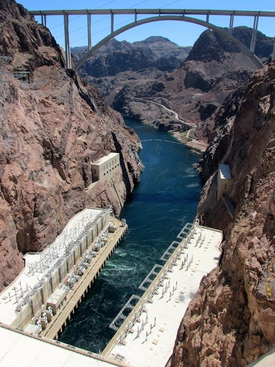 hoover dam essay Essay 2: hoover dam the hoover dam, once known as the boulder dam, is a concrete arch-gravity dam in the black canyon of the colorado river, on the border between .
