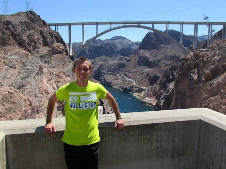 Hoover Dam Black Canyon Colorado River Nevada
