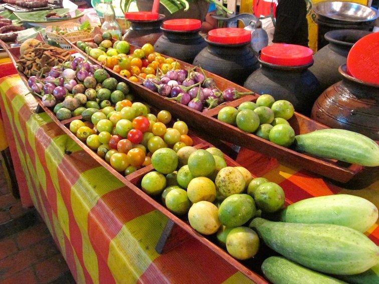 Amazing Food at the Luang Prabang Night Market in Laos Fruit