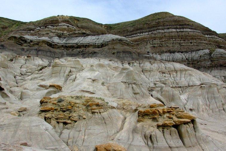 Canada Badlands Canyon Drumheller Hoodoos