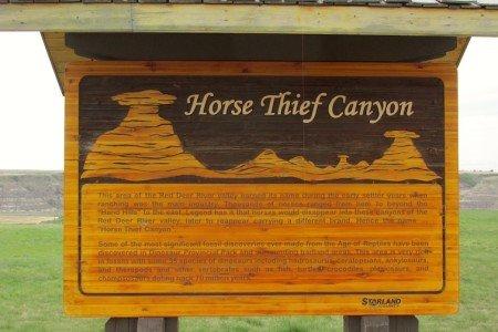 Canada Badlands Canyon Horse Thief Canyon