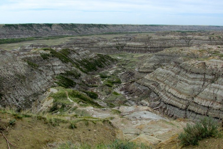 Canada Badlands Canyon Horse Thief Canyon