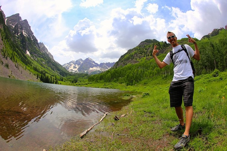 Maroon Bells Aspen Colorado USA Mountains
