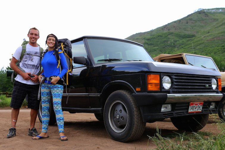 Anna Kate Land Rover Backpacking Road Trip Hiking