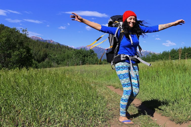 Backpacking Aspen Colorado Legendary Adventure of Anna Kate Field Dancing