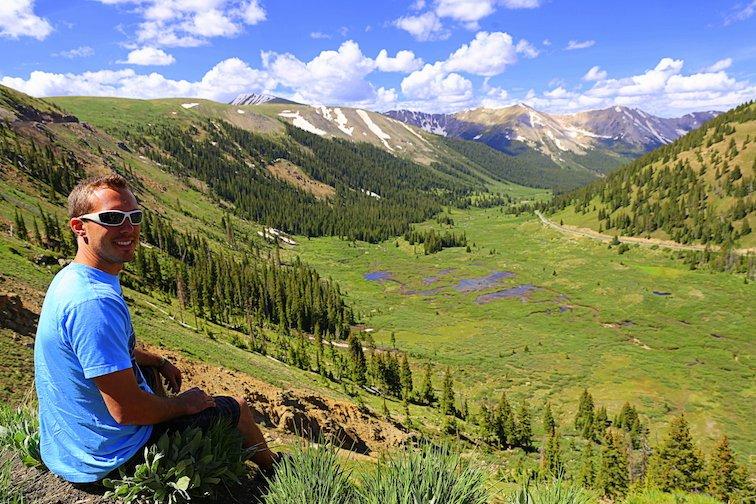 Independence Pass Continental Divide Aspen Colorado USA