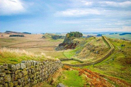 Hadrian's Wall Hiking London England UK United Kingdom Field