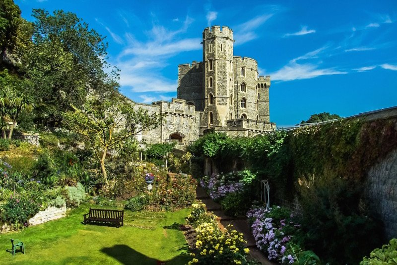Windsor Castle London UK Royal