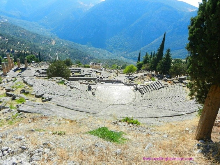 Delphi Greece theatre