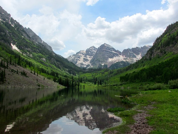 Maroon Bells Aspen Colorado USA Mountains