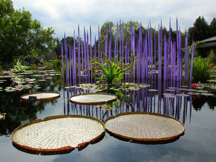 Dale Chihuly Denver Botanic Gardens Glass Art Colorado