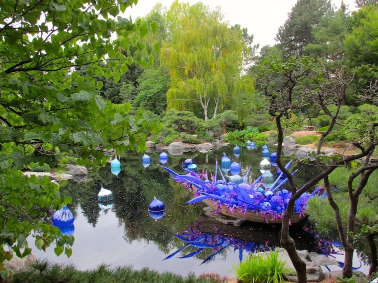 Dale Chihuly Denver Botanic Gardens Glass Art Colorado Tree Plant
