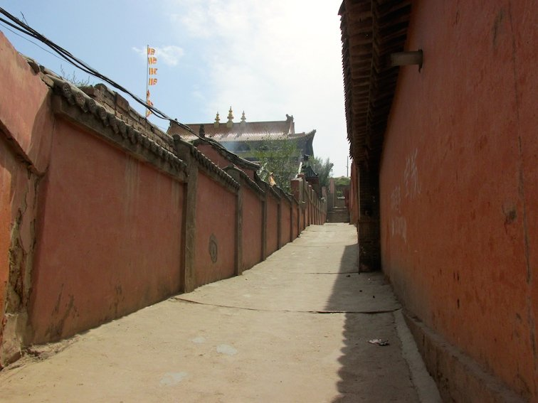 Exploring the Beichan Daoist Temple of Xining, China Buddhism Walkway Path