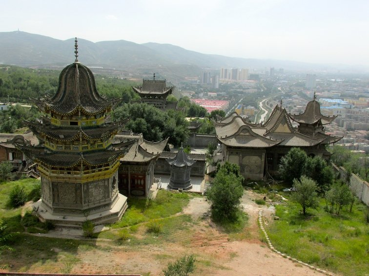 Exploring the Beichan Daoist Temple of Xining, China Buddhism Ancient