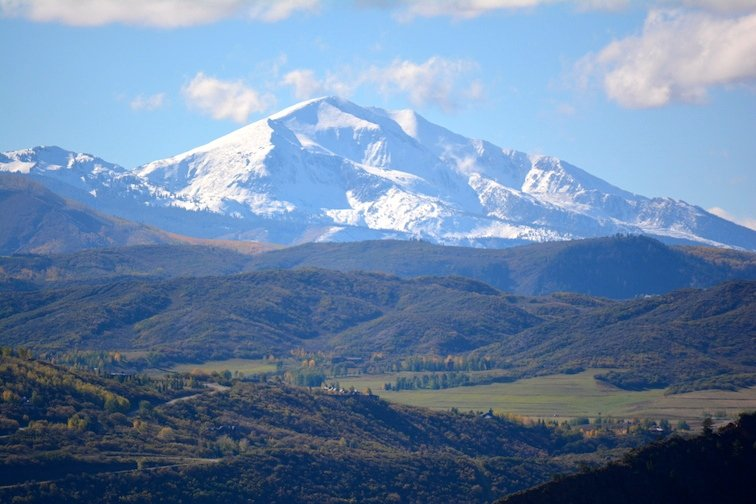 Colorado Aspen Mountain Hiking Autumn Fall Trail Scenic Overlook Mount Mt. Sopris