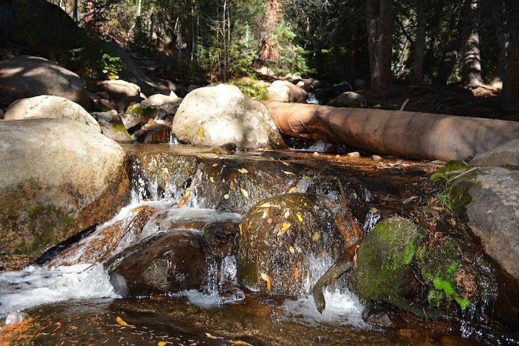 Colorado Aspen Mountain Hiking Autumn Fall Trail Creek