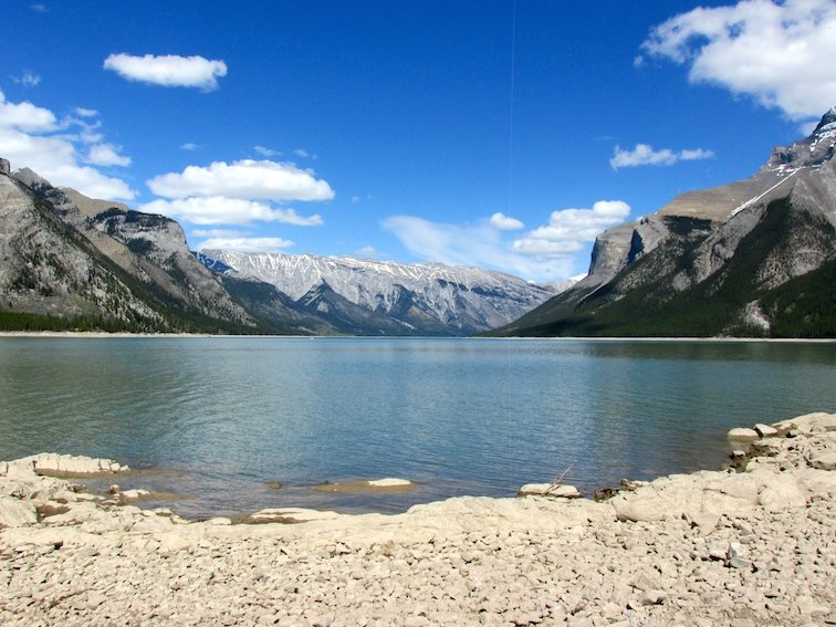 Banff National Park Alberta Canada Lake Minnewanka