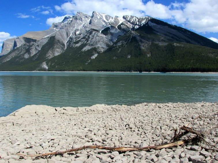 Banff National Park Alberta Canada Lake Minnewanka