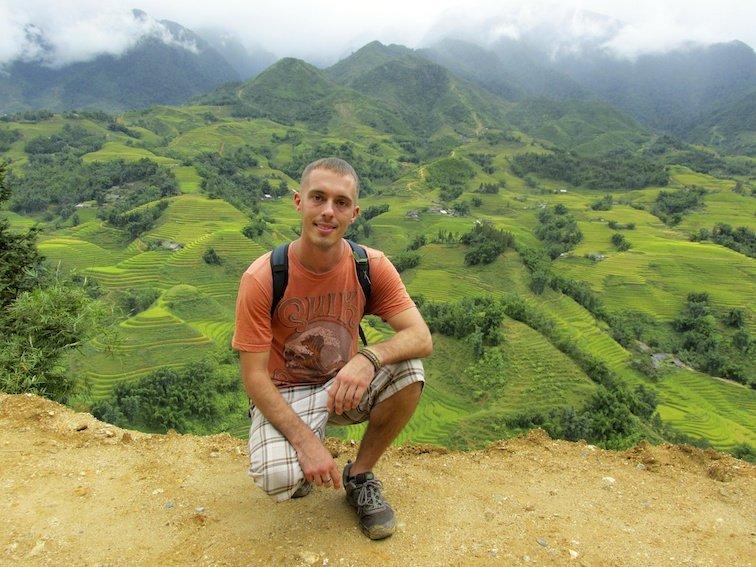 Sapa Vietnam Rice Fields Southeast Asia Me