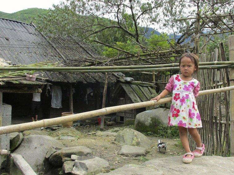 Sapa Vietnam Rice Fields Southeast Asia Child Baby Dress