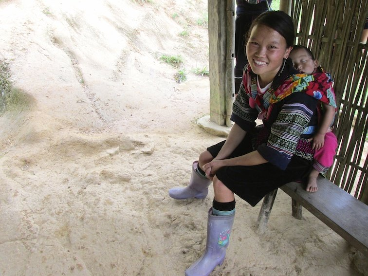 Sapa Vietnam Rice Fields Southeast Asia Guide Walk Hike Village Local