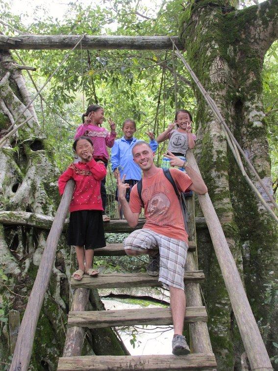 Sapa Vietnam Rice Fields Southeast Asia Guide Walk Hike Village Local Children School