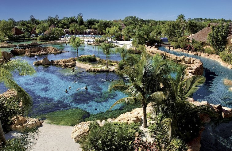 Discovery Cove Orland Florida Theme Water Park