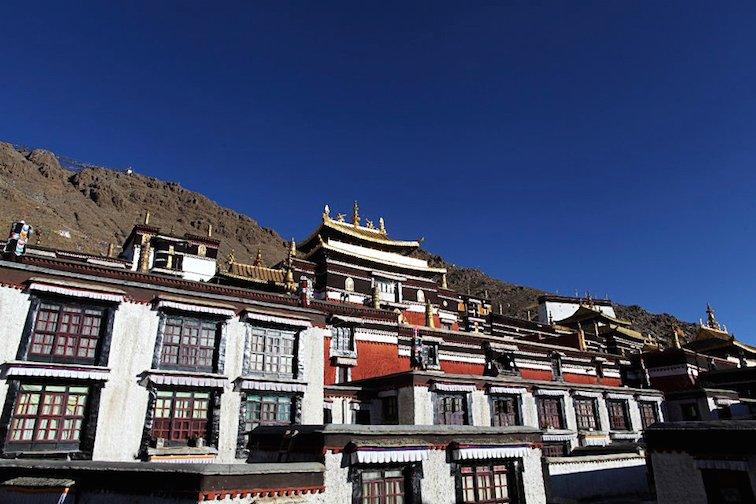 Tashilhunpo Monastery Tibet China Asia Temple