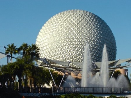 Epcot Ball Florida Theme Park